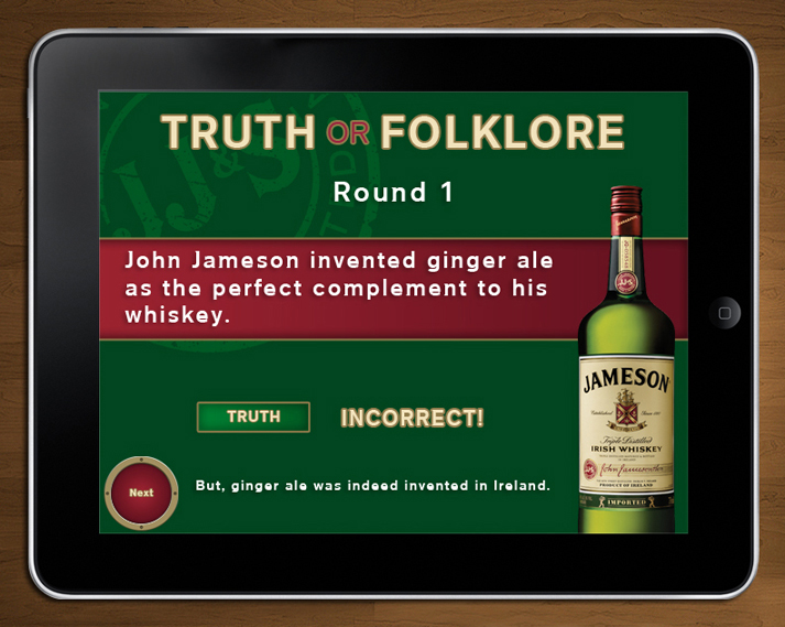 Jameson MBN: iPad Application-1