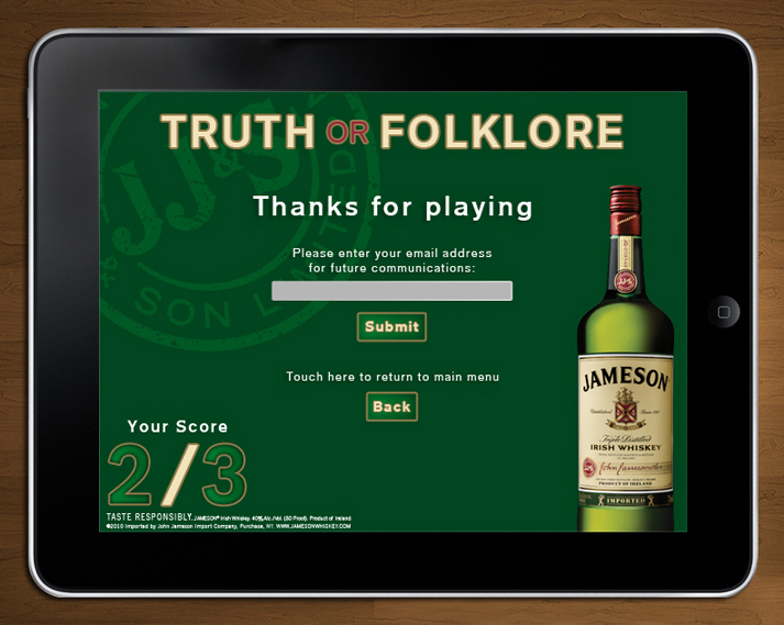 Jameson MBN: iPad Application-2