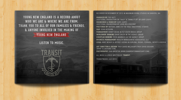 Transit Young New England Album Art-4